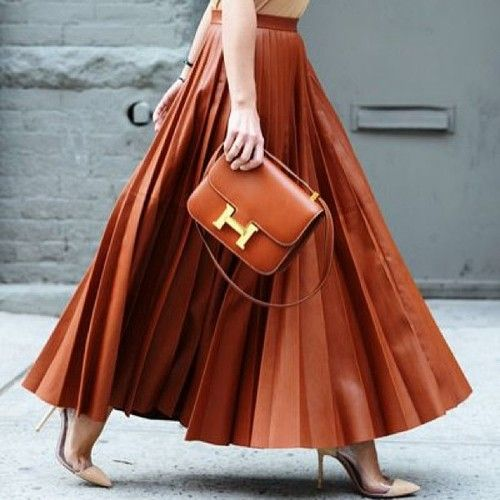 miroslava duma leather skirt..