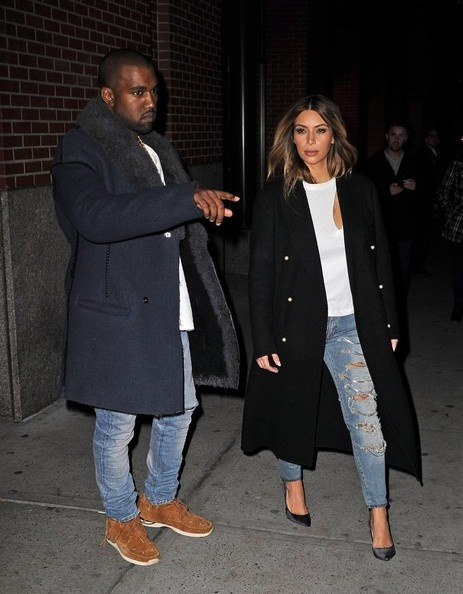 "the ""k's"" do new york.. kimye"