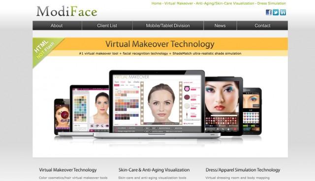 ModiFace launching virtual beauty advisor