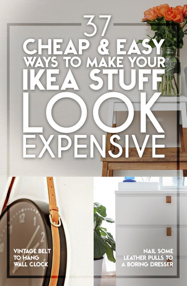 30 very cool and inexpensive ikea hacks for Inexpensive ways to build a home