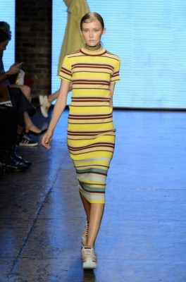 sporty stripes- dkny