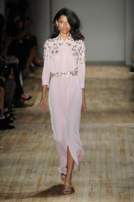 embellished shirt dress- jenny packham