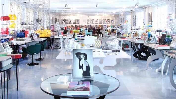 Hidden behind an unassuming facade, Corso Como was founded in 1991 by former editor-in-chief of Italian Vogue Carla Sozzani. She brought her fashion nous to the complex that combines book and design stores with a cafe, hotel and roof garden.