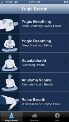 yogic breathing app