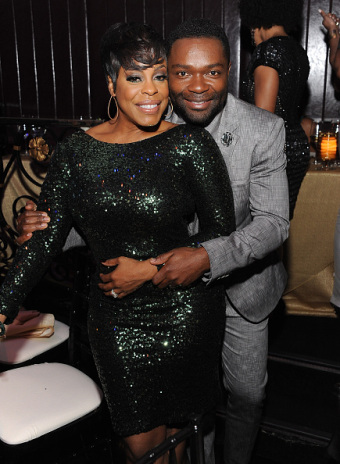neicy nash + hubby {she's looking great these days- had to post two pics!} ebony power 100