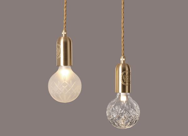 crystal bulb pendant {propertyfurniture.com}
