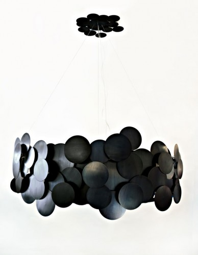 disc chandelier {propertyfurniture.com}