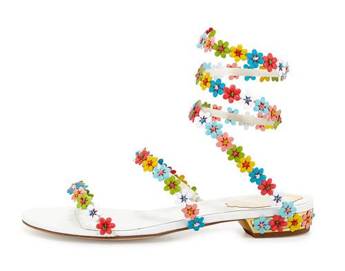 floral-embellished-coil-sandal-rene-caovilla-collection-spring2015