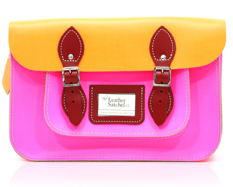 Leather-Satchel-Dayglow-Pink-Orange-Pillarbox-12-front_large