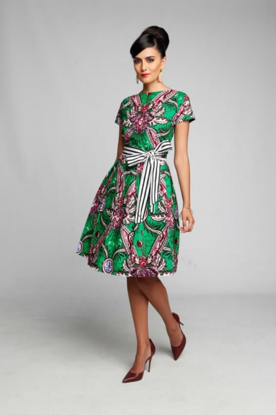 Asawaah Racquelle Dress/Made to order $168.89