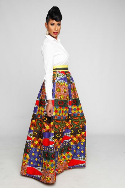 Anishah Maxi Skirt/Made to Order $122.83