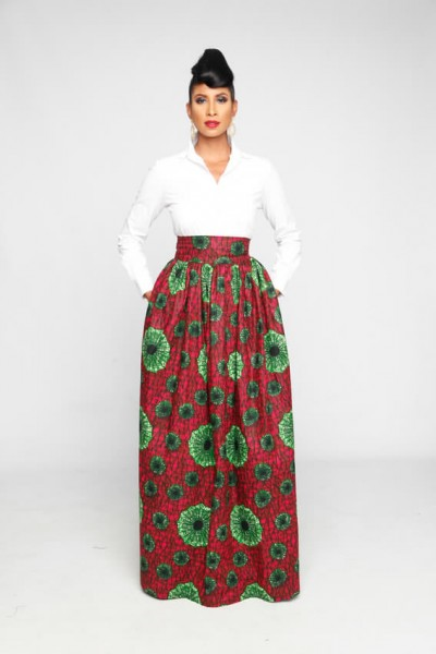 Brago Soho Maxi Skirt/Made to order $122.83