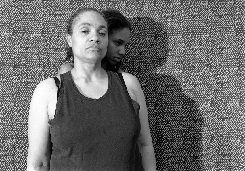 LaToya Ruby Frazier (American, b. 1982). Momme Portrait Series (Shadow), 2008. Gelatin silver photograph, 15 1/2 x 19 1/2 in. (39.4 x 49.5 cm). Brooklyn Museum, Emily Winthrop Miles Fund, 2011.63.2. © LaToya Ruby Frazier. Photo by LaToya Ruby Frazier