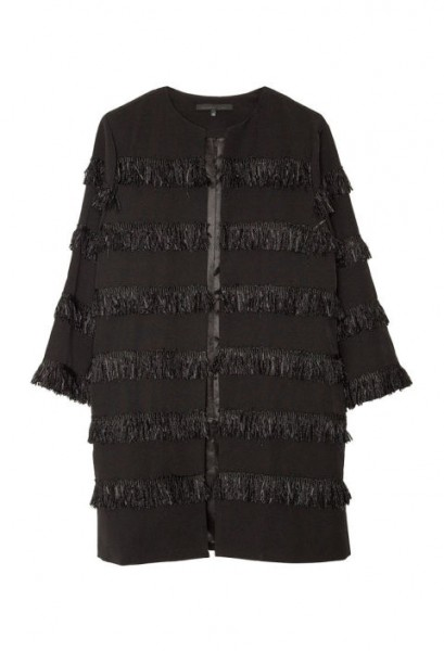a common space fringe coat $140.