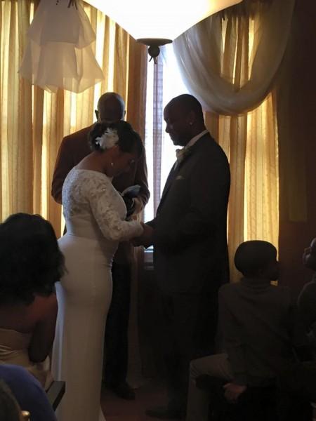 bride + groom. pray..