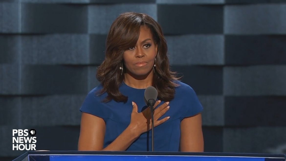 michelle obama's DNC speech..