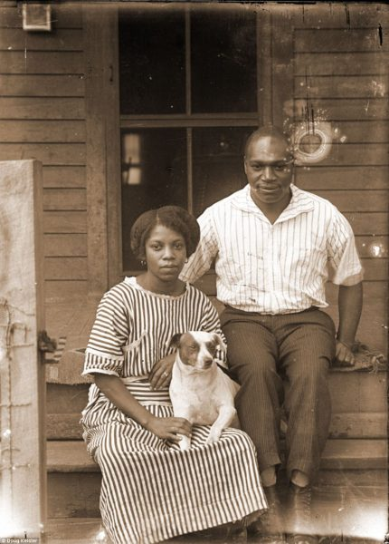 This couple has been identified as Vashti Agnes Knight, left, and her husband Bartel King Mosby, right. They were identified by Ed Zimmer and Vashti's great granddaughter Cherise L. Addison in 2014. They were married in the early 1920s and lived at 1030 Rose Street. Vashti lived from 1891-1981 and Bartel lived from 1888-1964